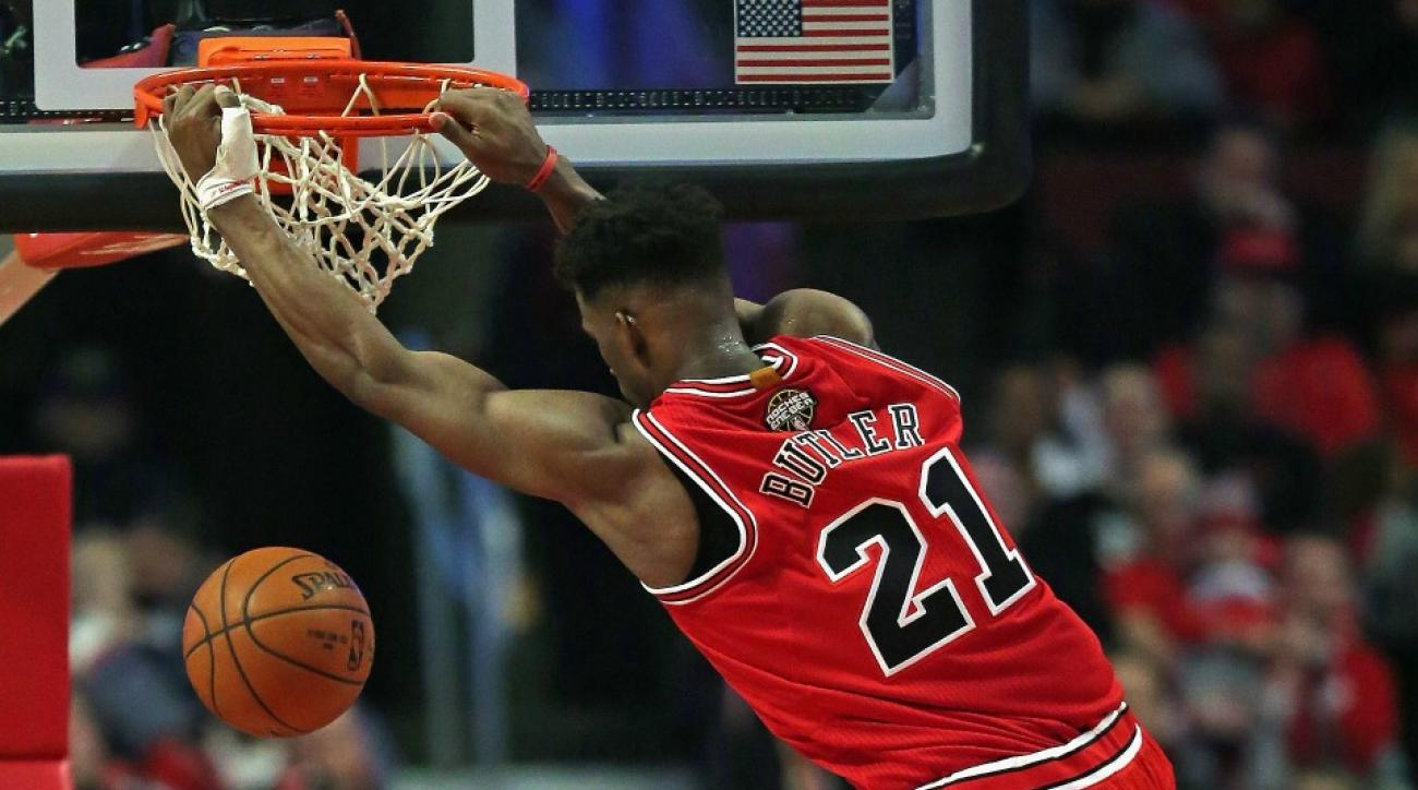Bulls' Jimmy Butler to have MRI on elbow