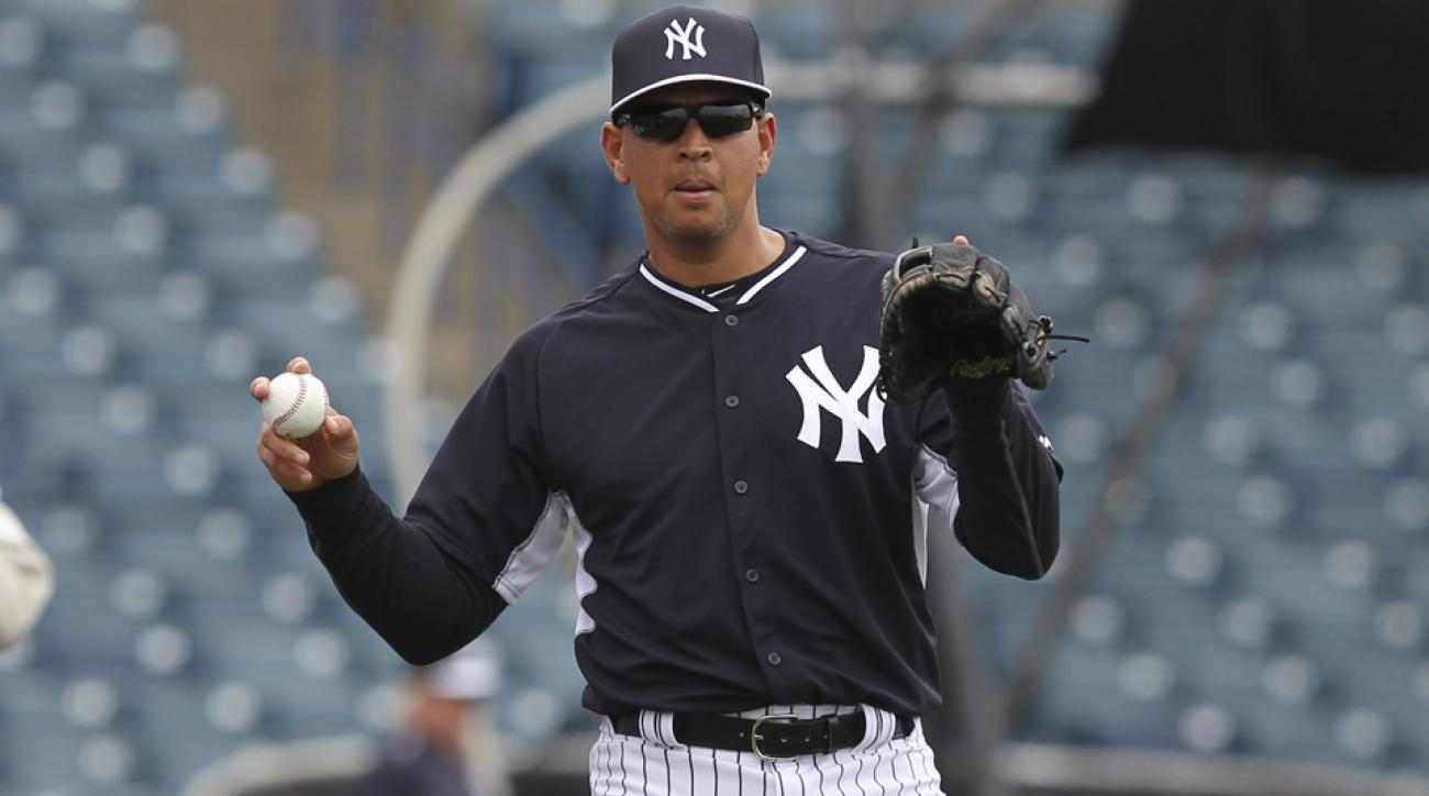 new york yankees alex rodriguez spring training debut