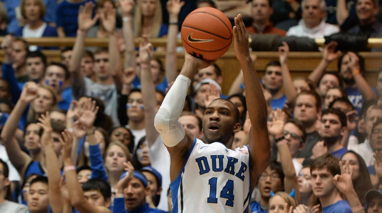 Rasheed Sulaimon was allegedly dismissed from Duke's basketball program after two alleged sexual assaults.