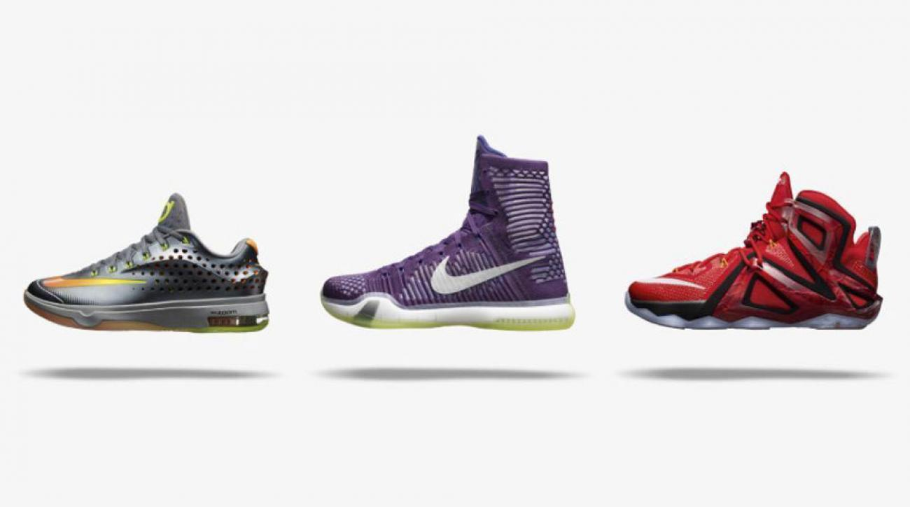 Nike gets technical in new Elite Series sneakers for LeBron, Durant and Kobe