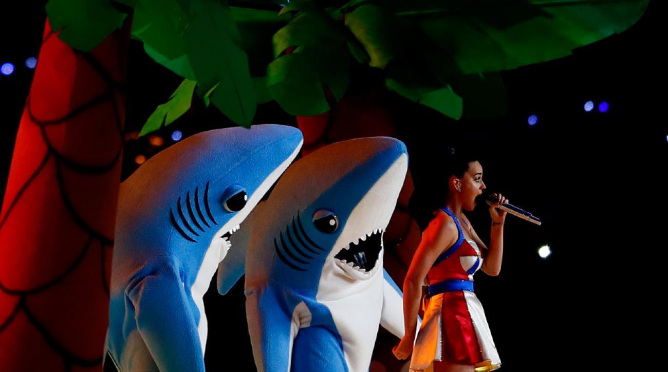Katy Perry is selling Left Shark onesies.