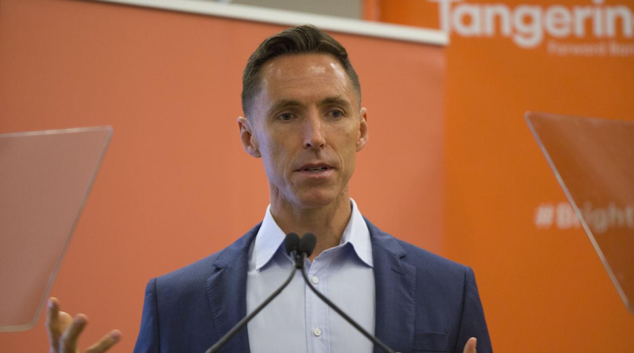 Steve Nash at charity event in Toronto last month.