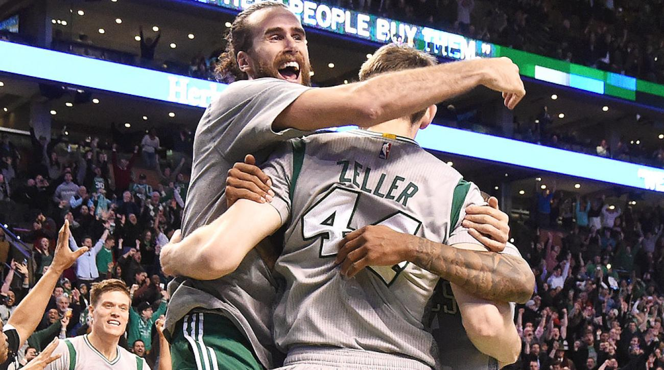 Tyler Zeller hit a game-winning shot to beat the Jazz.