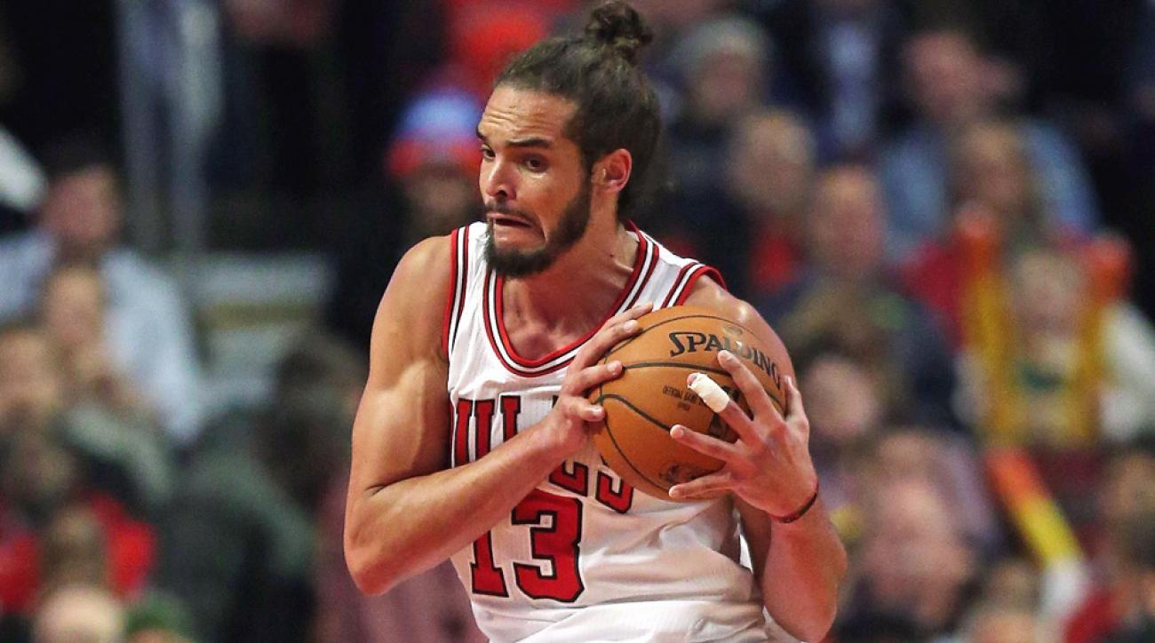 Joakim Noah grabbed his 5,000th career rebound in a win against the Thunder.
