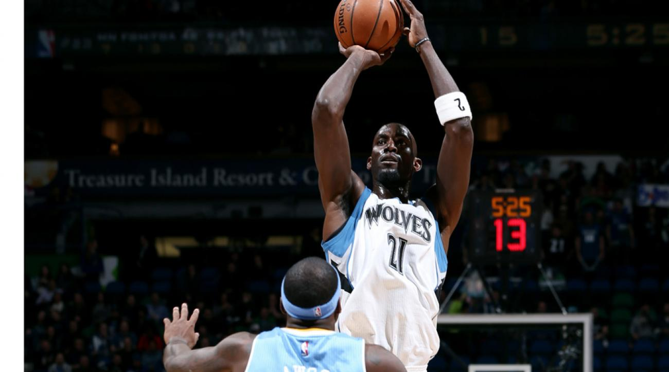 Kevin Garnett rips Nuggets, calls them quitters