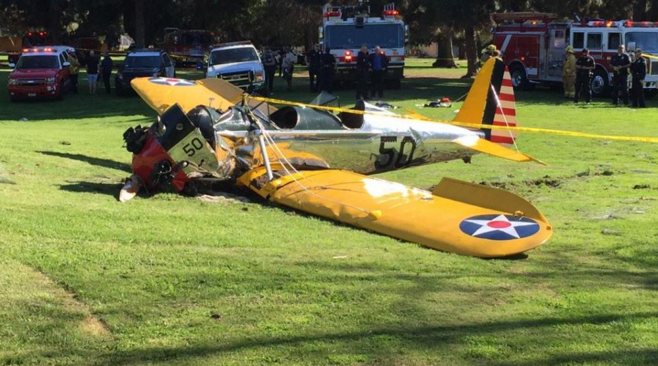 DirecTV Red Zone host was on the scene for Harrison Ford plane crash