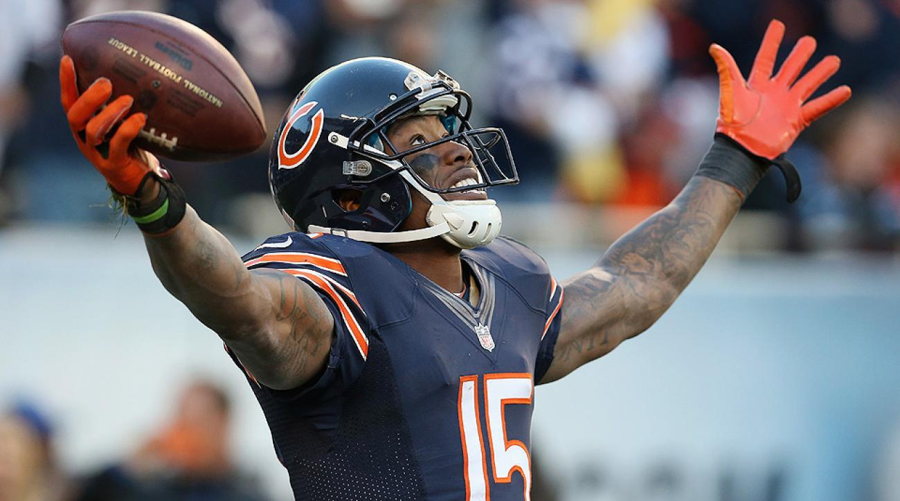 New York Jets trade for Brandon Marshall in deal with Chicago Bears
