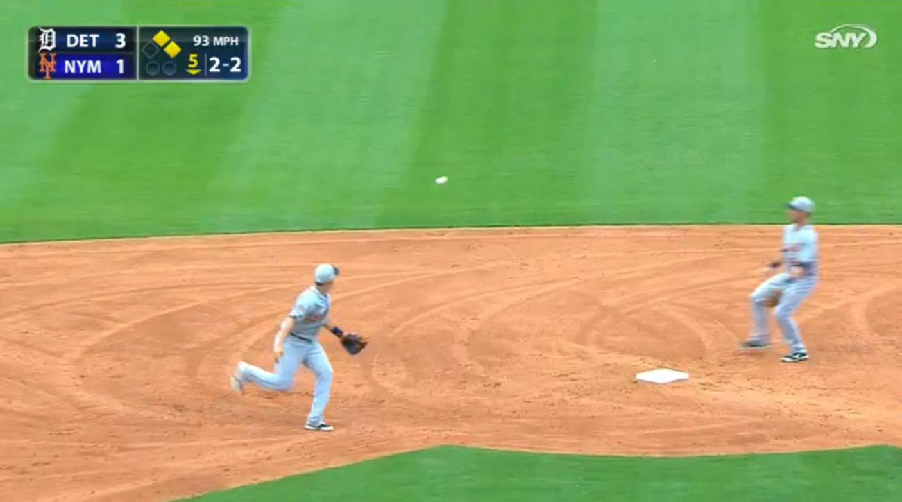 Detroit Tigers crazy double play