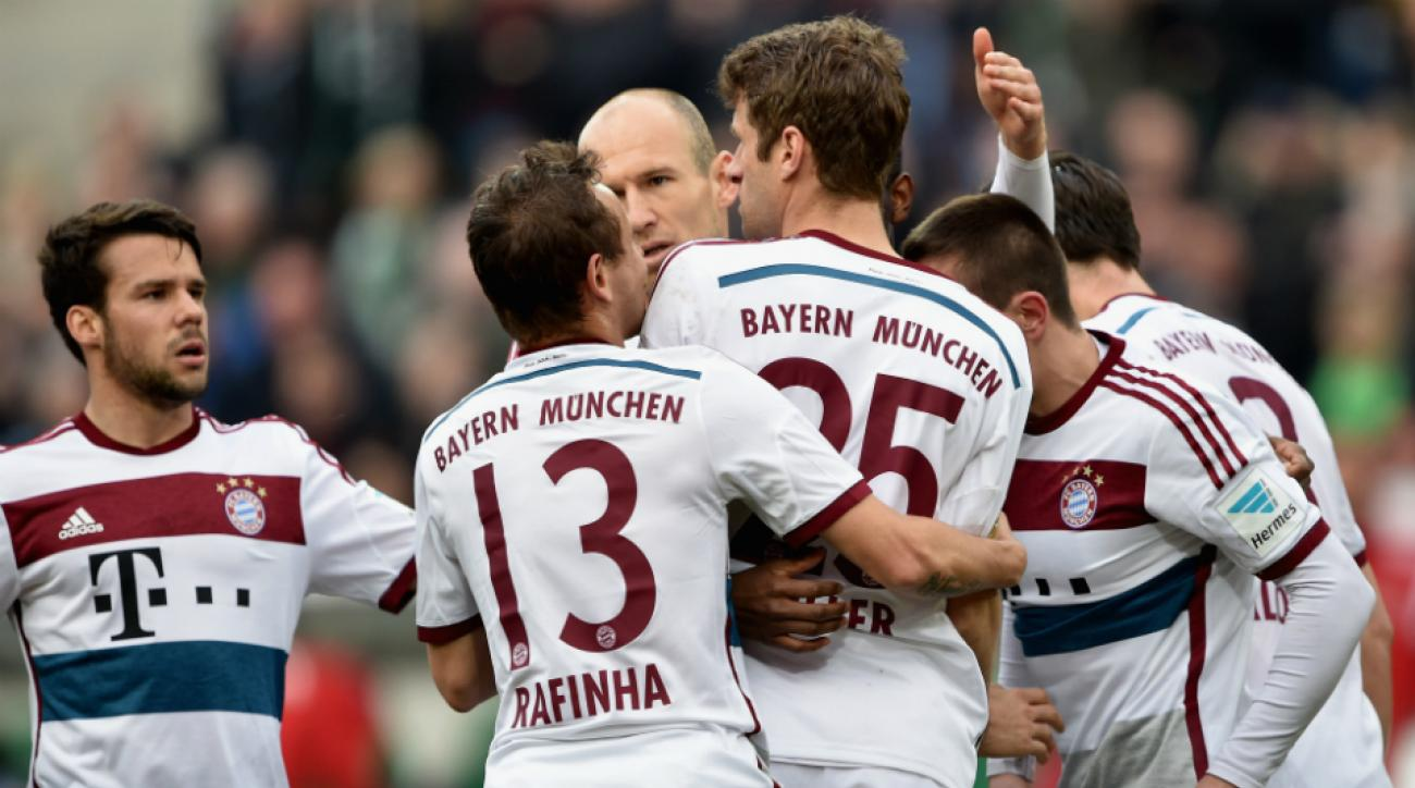 bayern munich hannover bundesliga table