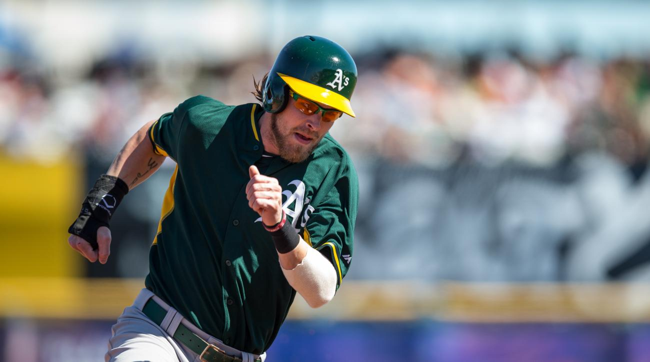 Oakland Athletics Josh Reddick injury