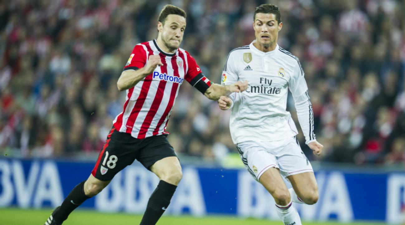 real madrid falls to athletic bilbao