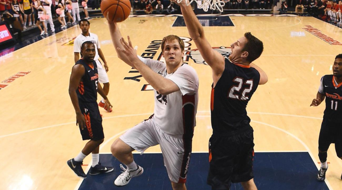 Sunday sit down with Gonzaga's Przemek Karnowski.