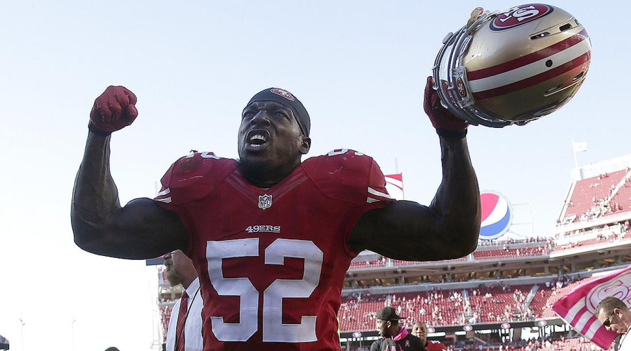 49ers in flux as Patrick Willis, Justin Smith retire