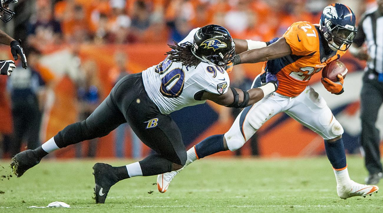 Chicago Bears sign Pernell McPhee from Baltimore Ravens