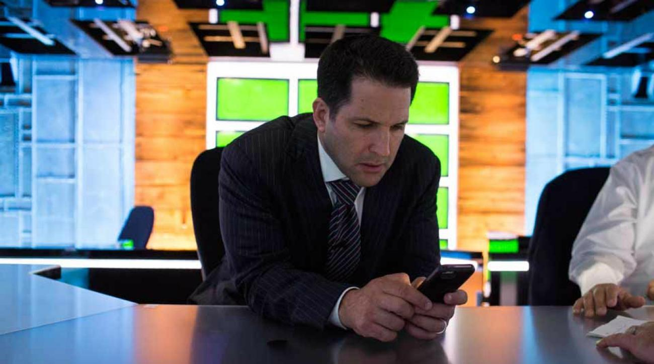 Adam Schefter racked up a huge cell phone bill in his first month at ESPN
