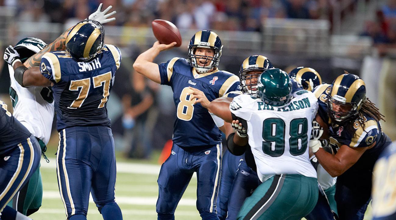 Philadelphia Eagles trade Nick Foles to Rams for Sam Bradford
