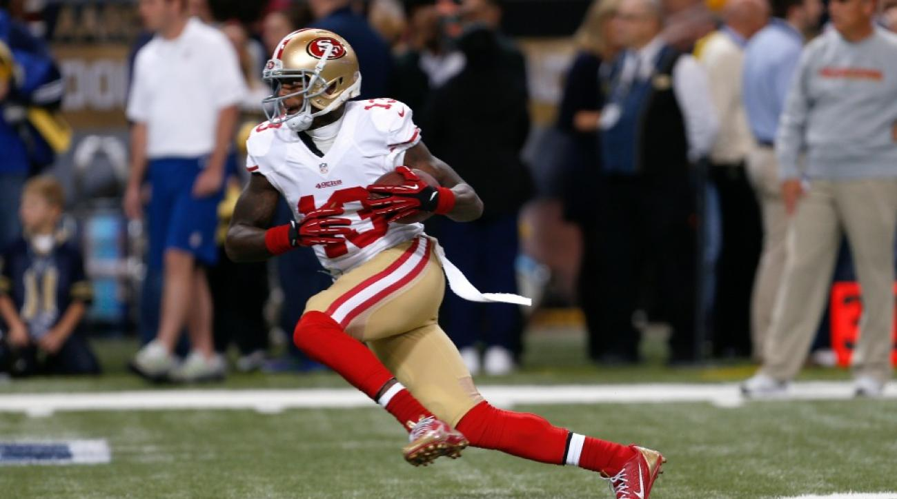 49ers to release wide receiver Stevie Johnson