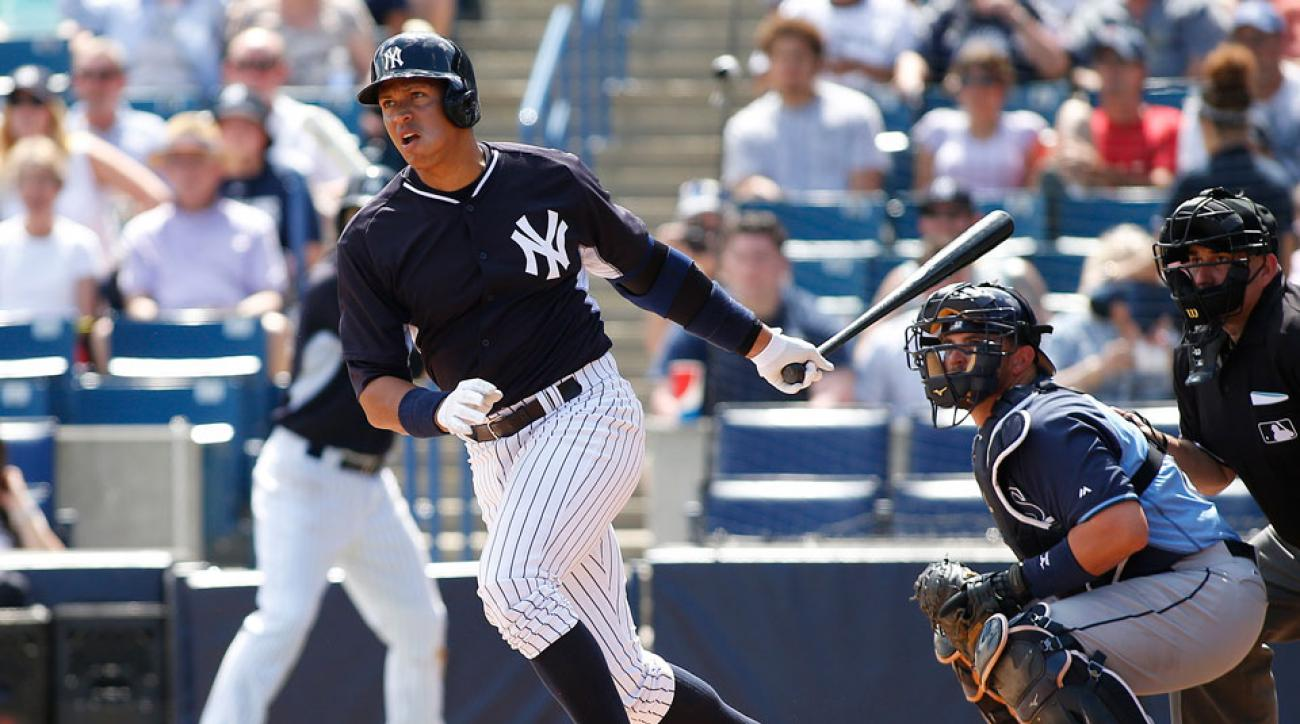 New York Yankees Alex Rodriguez