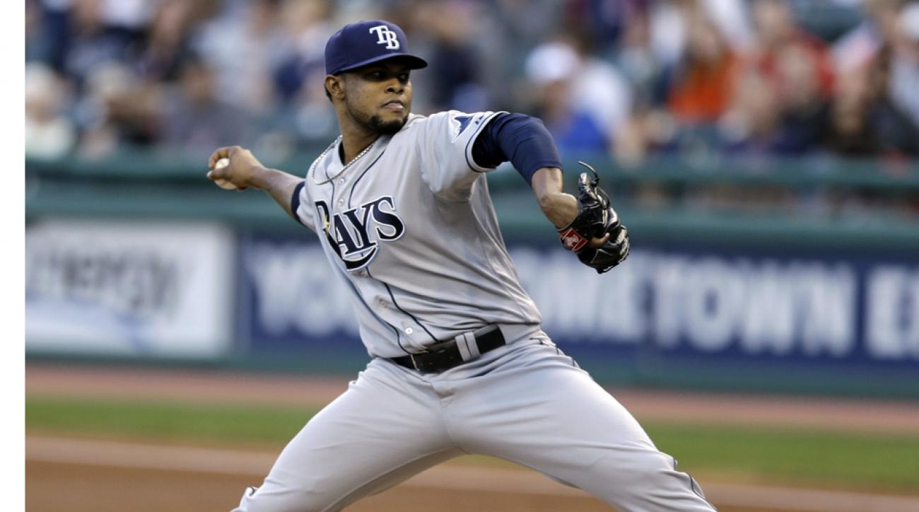 Rays' Alex Colome out indefinitely due to pneumonia
