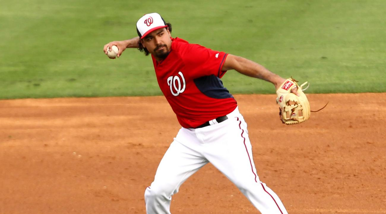 Nationals 3B Anthony Rendon has mild MCL sprain