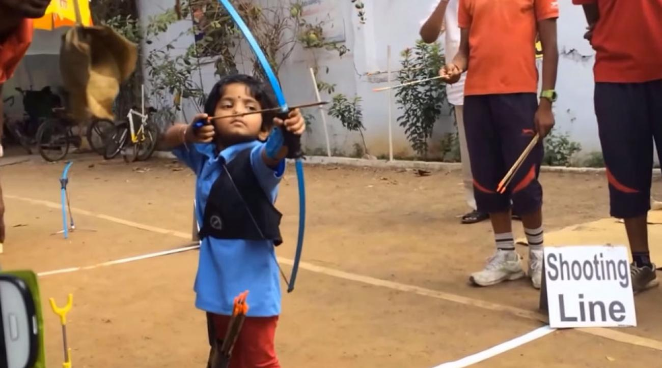Archery prodigy in India