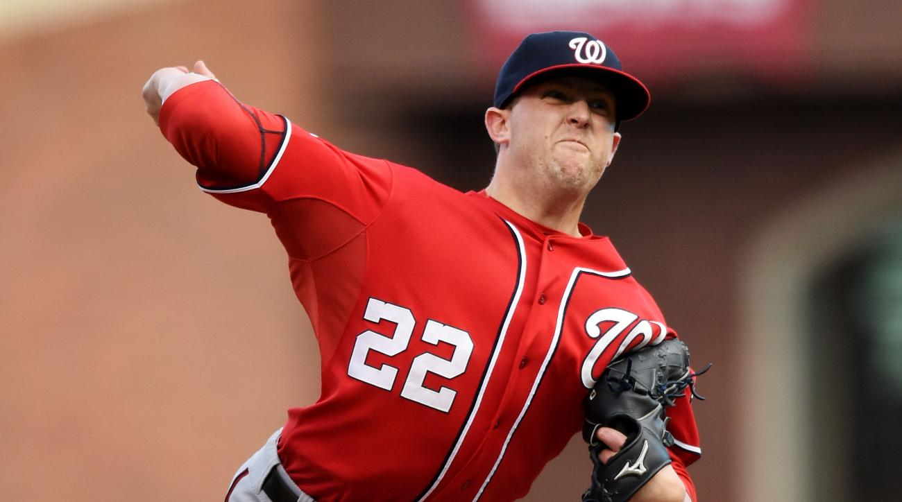 Drew Storen Washington Nationals pitcher