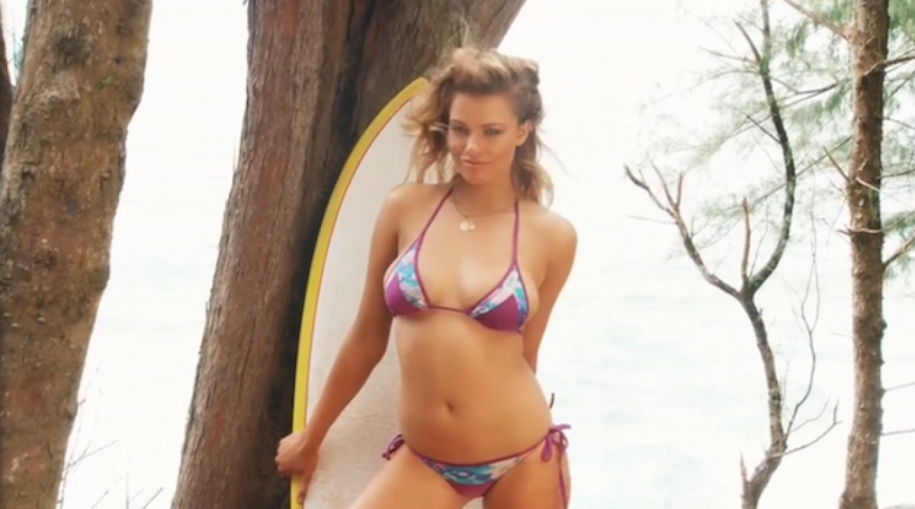 Hailey Clauson SI Swimsuit 2015 outtakes