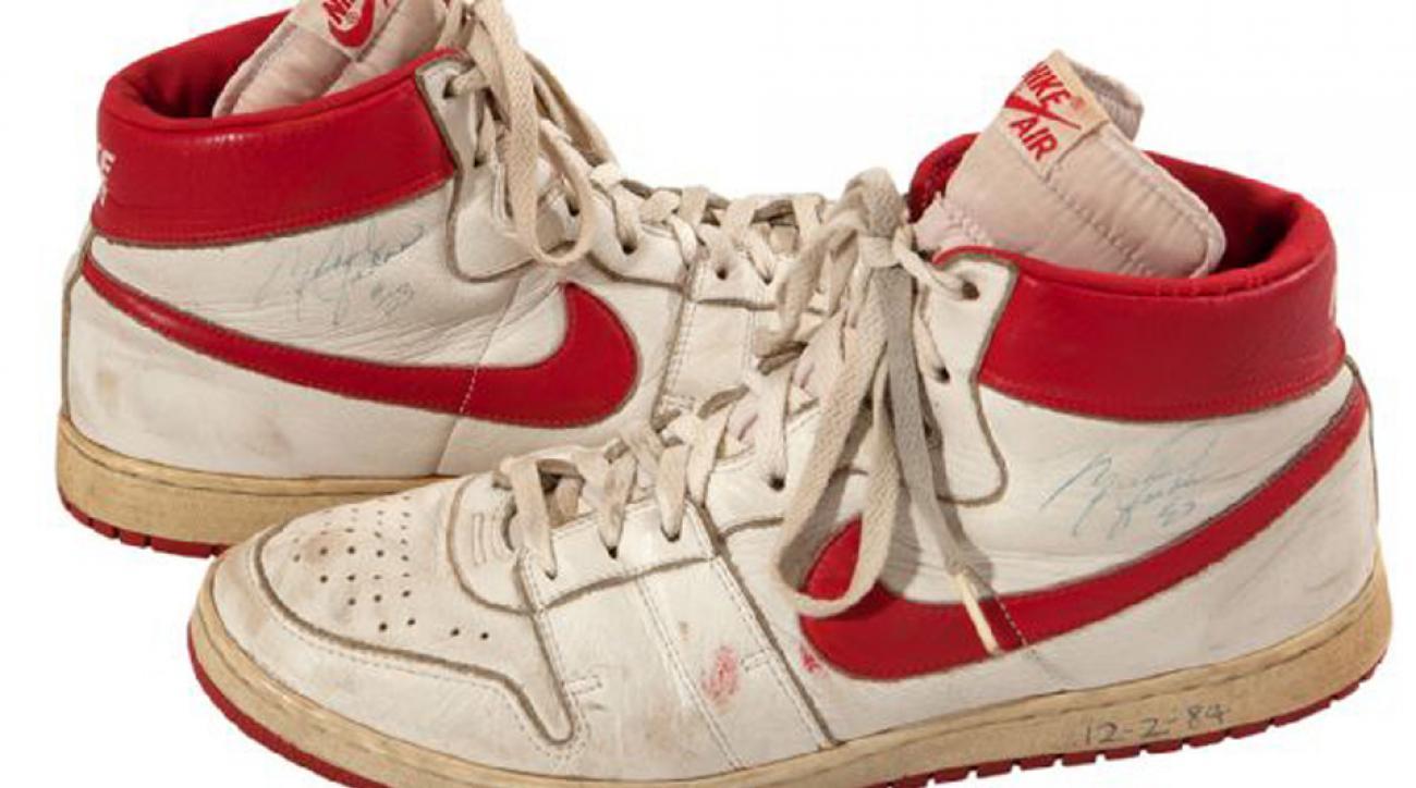 Michael Jordan Nike auction rookie season