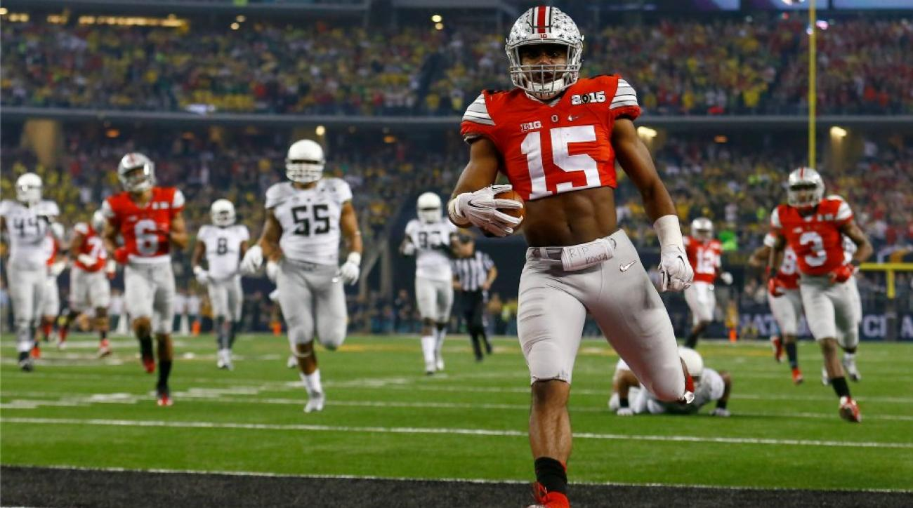 best website 7886e 83655 Ohio State RB Ezekiel Elliott: Crop top rule 'silly' | SI.com