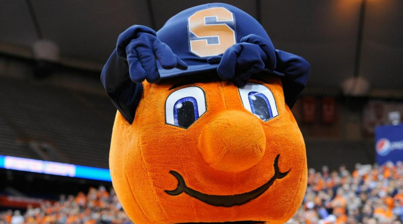 Syracuse mascot Otto the Orange also banned from postseason play