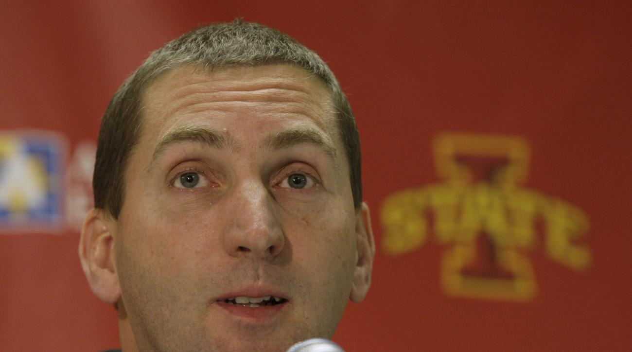 Iowa State Athletic Director Jamie Pollard heart attack