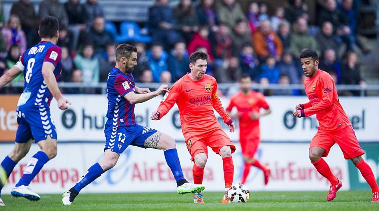 Lionel Messi Barcelona vs. Eibar