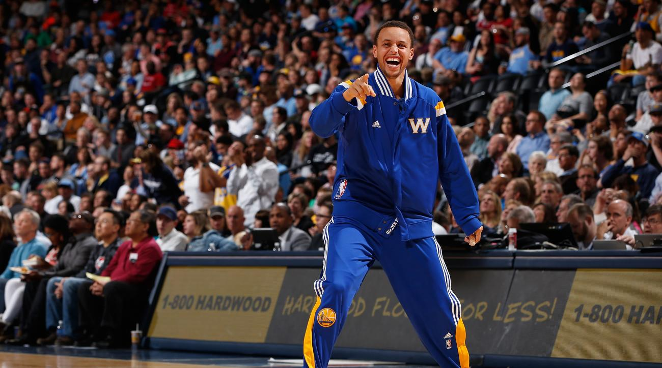 Steph Curry Golden State Warriors rest