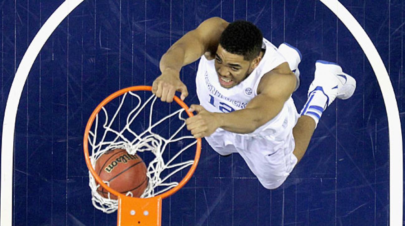 Karl-Anthony Towns and the Wildcats enter the NCAA tournament a perfect 34-0.