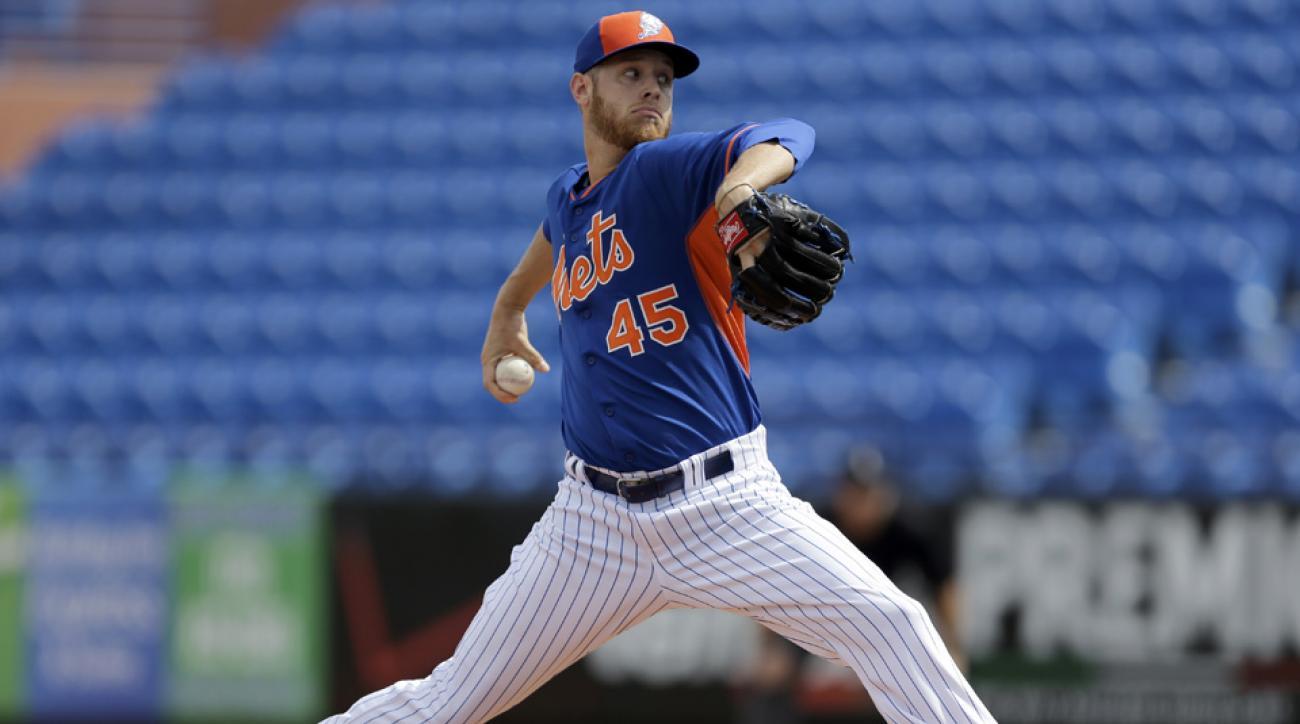 Mets pitcher Zack Wheeler has elbow injury