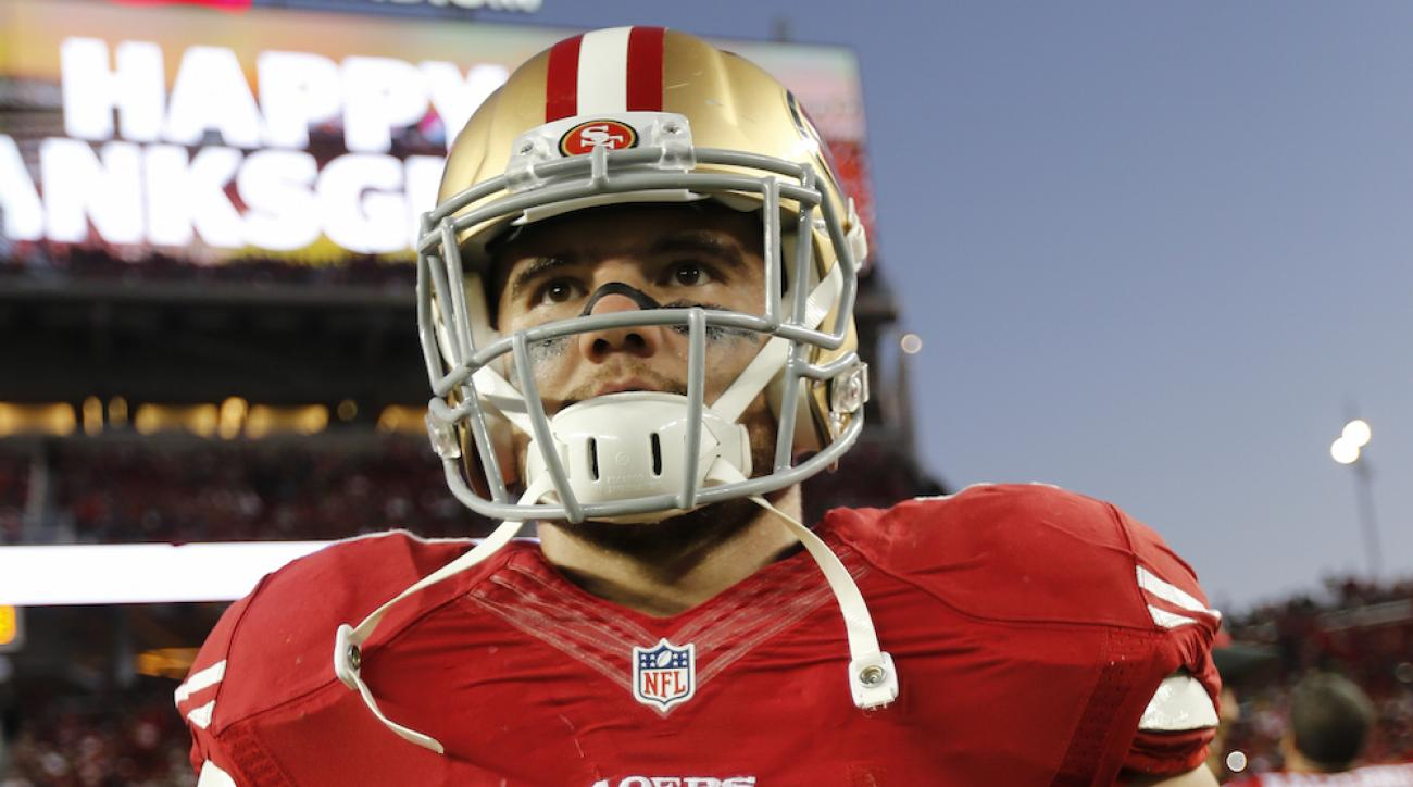 chris borland retires shoulder issues 49ers
