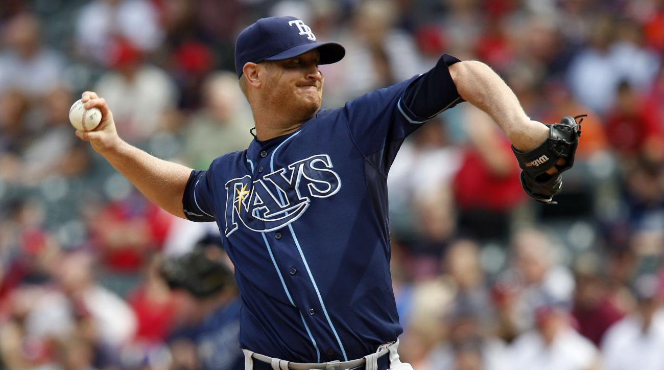 Tampa Bay Rays Alex Cobb tendinitis