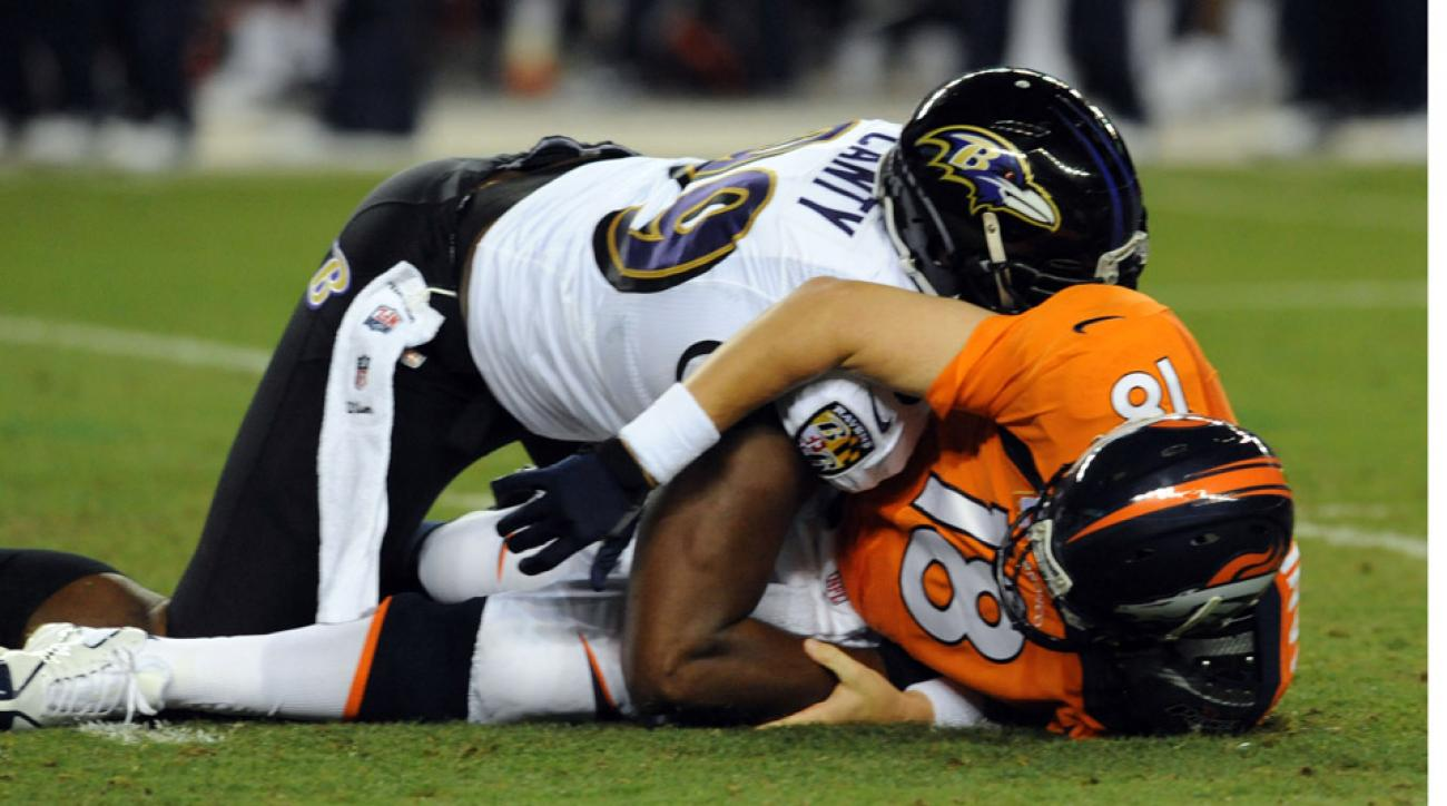 Ravens re-sign defensive end Chris Canty