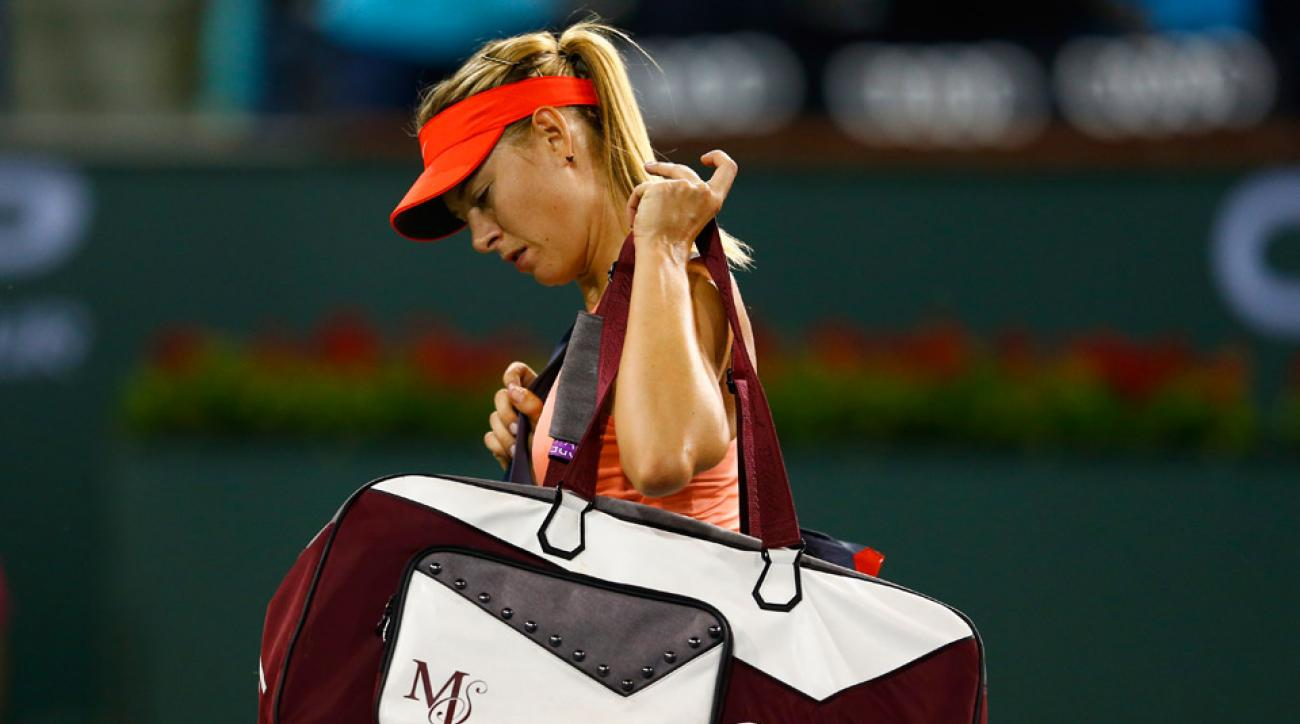 Maria Sharapova upset by emotional Flavia Pennetta at Indian Wells