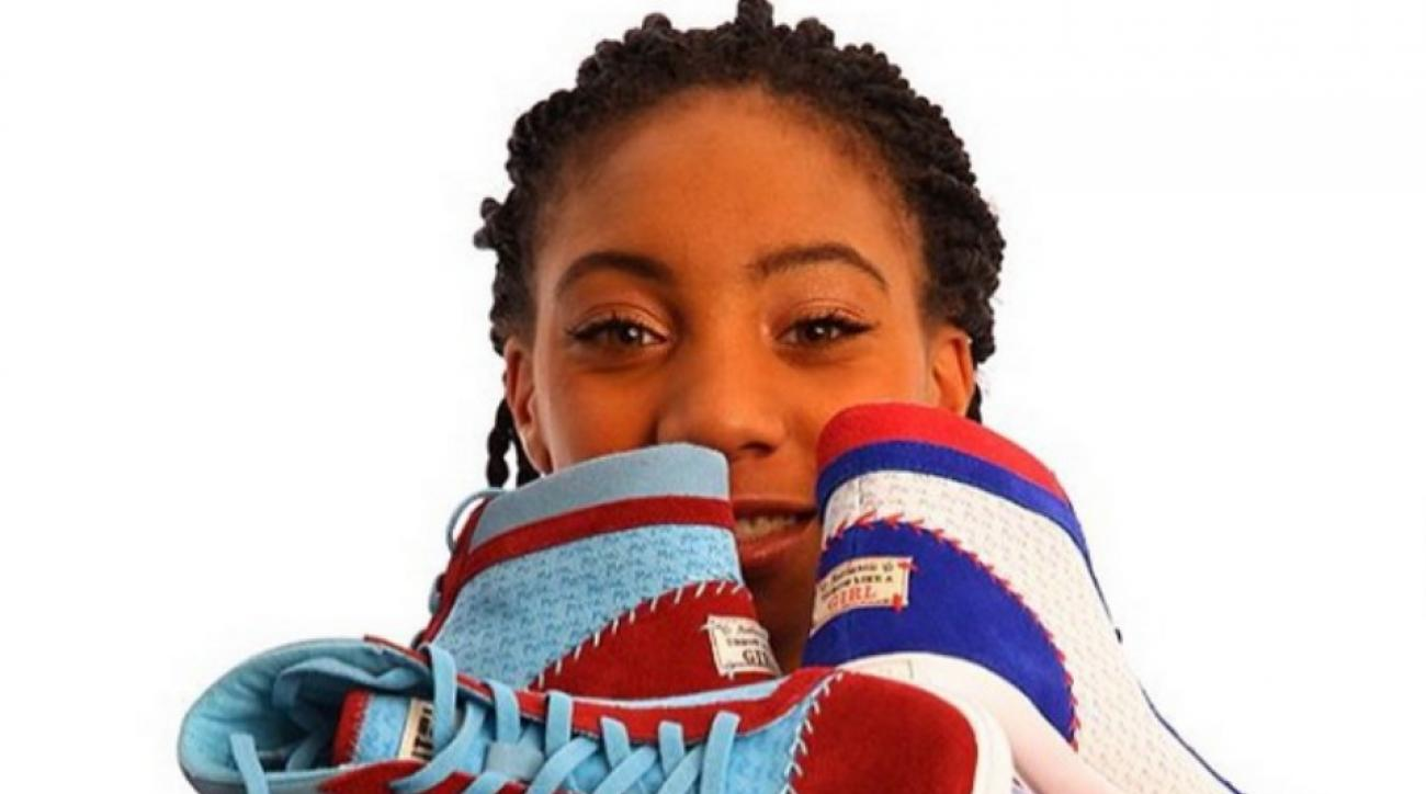 Mo'ne Davis is launching a line of sneakers for charity