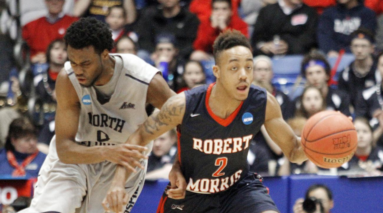robert morris vs north florida first four march madness