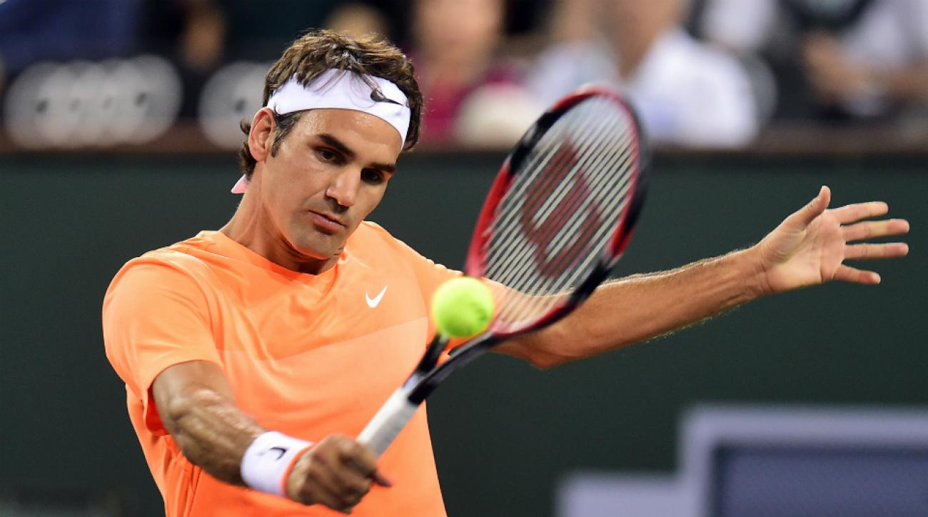 roger federer indian wells roundup