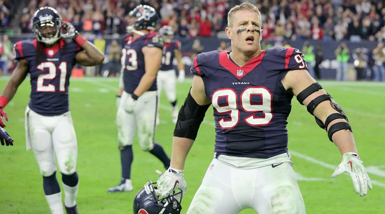 Houston Texans J.J. Watt fails Box Jump