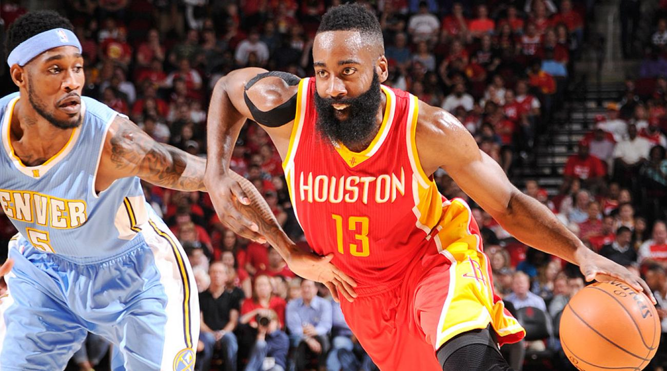 89e74470b95 James Harden scores career-high 50 points in Rockets win over Nuggets