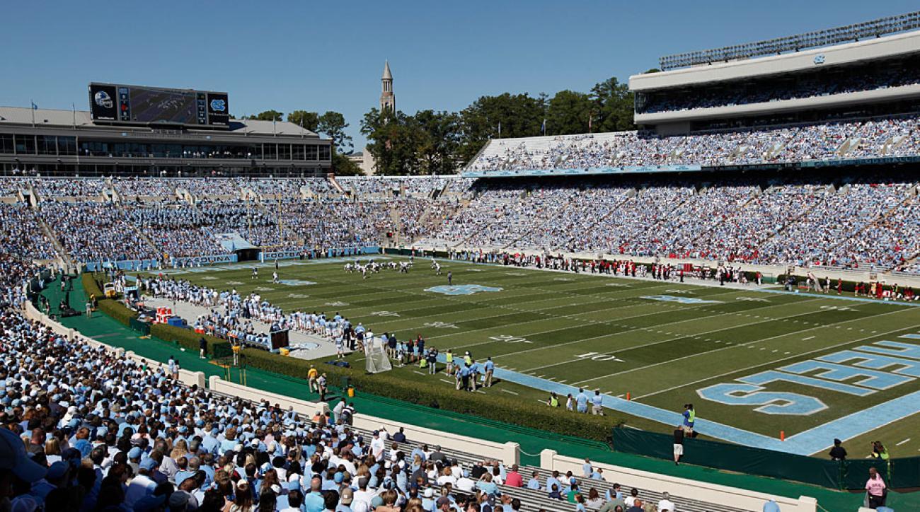 Kenan Stadium, home of the North Carolina Tar Heels