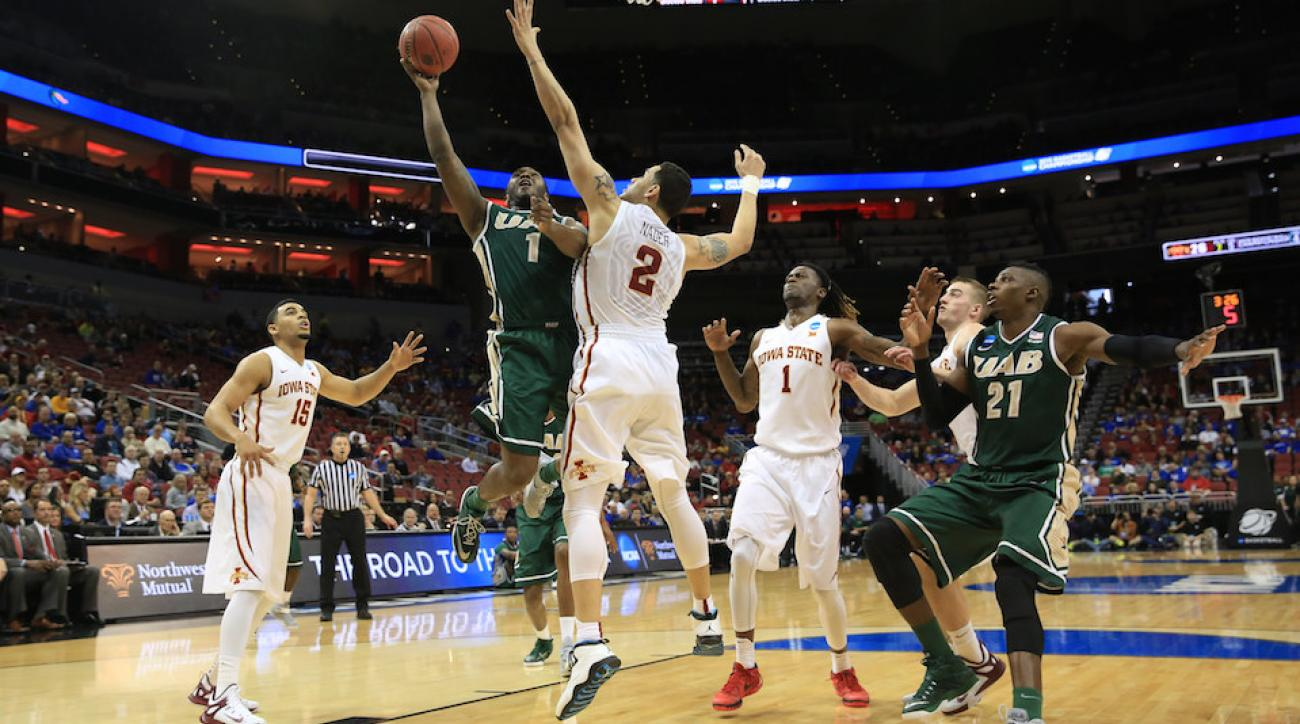 March Madness NCAA tournament highlight reel dunk three pointer game winning shot best plays