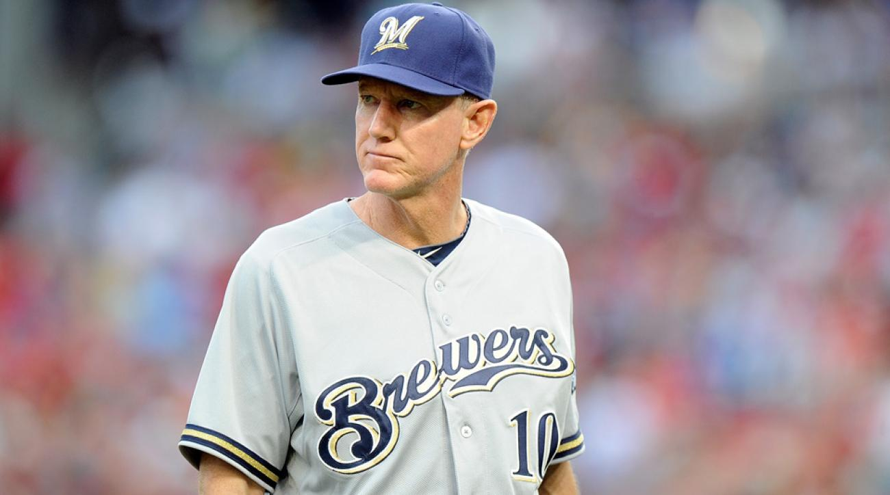 milwaukee brewers manager ron roenicke contract 2016