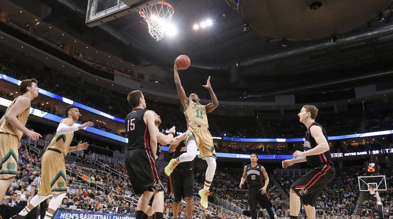 Notre Dame Northeastern Demetrius Jackson spin pass ncaa tournament