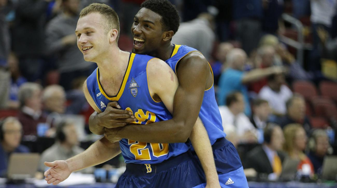 Goaltending was called late in UCLA vs SMU, a second-round March Madness game.