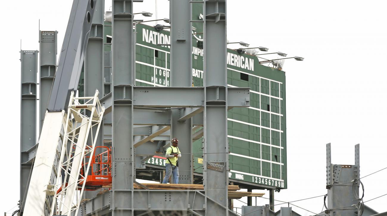 Wrigley Field Cubs renovations update